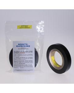 SAFEX®-Schutz-Klebeband mattschwarz, 25 mm breit